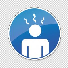 Body Temperature Check Sign, mandatory sign or safety sign during Covid-19 Outbreak on checked transparent background. Vector illustration. Eps 10 vector file. : Stock Photo or Stock Video Download rcfotostock photos, images and assets rcfotostock | RC-Photo-Stock.:
