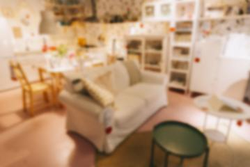 Bokeh Home Interior Background- Stock Photo or Stock Video of rcfotostock | RC-Photo-Stock