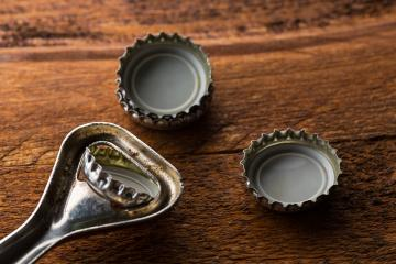 Bottle Caps with bottle opener : Stock Photo or Stock Video Download rcfotostock photos, images and assets rcfotostock | RC-Photo-Stock.: