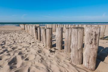 breakwaters on the beach at the north sea in Domburg, Zeeland, Holland- Stock Photo or Stock Video of rcfotostock | RC-Photo-Stock