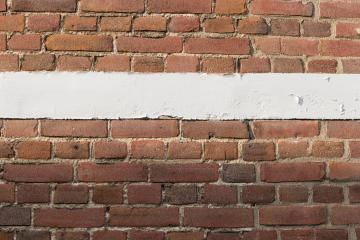 brick wall with white copy space line and red bricks background.- Stock Photo or Stock Video of rcfotostock | RC-Photo-Stock