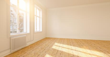 Bright empty room in old apartment as a passage room- Stock Photo or Stock Video of rcfotostock | RC-Photo-Stock