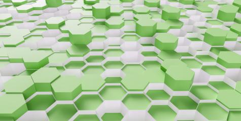 bright green Hexagon honeycomb Background - 3D rendering - Illustration - Stock Photo or Stock Video of rcfotostock | RC-Photo-Stock