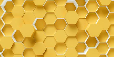 bright orange Hexagon honeycomb Background - 3D rendering - Illustration : Stock Photo or Stock Video Download rcfotostock photos, images and assets rcfotostock | RC-Photo-Stock.: