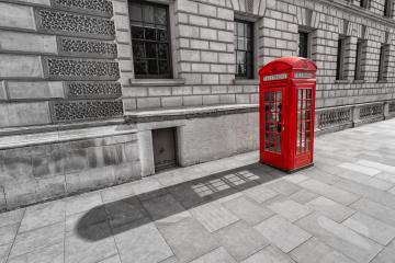 British Phone Booth in London, United Kingdom- Stock Photo or Stock Video of rcfotostock | RC-Photo-Stock