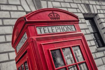 British Phone Booth in London, United Kingdom- Stock Photo or Stock Video of rcfotostock   RC-Photo-Stock