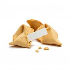 brocken fortune cookie with a massage note - Stock Photo or Stock Video of rcfotostock | RC-Photo-Stock