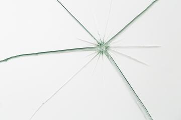 Broken window glass crack splitter on white gray background : Stock Photo or Stock Video Download rcfotostock photos, images and assets rcfotostock | RC-Photo-Stock.: