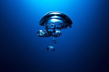 Bubble of air underwater : Stock Photo or Stock Video Download rcfotostock photos, images and assets rcfotostock | RC-Photo-Stock.: