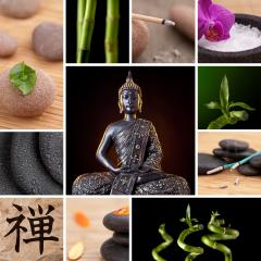 Buddha Zen Asia Collage : Stock Photo or Stock Video Download rcfotostock photos, images and assets rcfotostock | RC-Photo-Stock.: