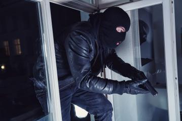 Burglar entering a victim's house with a gun at night : Stock Photo or Stock Video Download rcfotostock photos, images and assets rcfotostock | RC-Photo-Stock.: