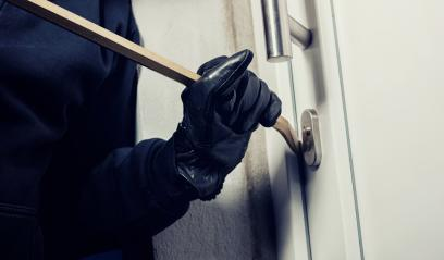 burglar using crowbar to break a home door at night : Stock Photo or Stock Video Download rcfotostock photos, images and assets rcfotostock | RC-Photo-Stock.: