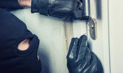 burglar using Lock-picker to open a victim's door : Stock Photo or Stock Video Download rcfotostock photos, images and assets rcfotostock | RC-Photo-Stock.: