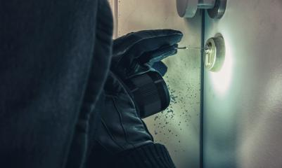 burglar using picking tools to open a victim's door- Stock Photo or Stock Video of rcfotostock | RC-Photo-Stock