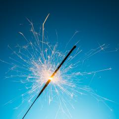 burned Fireworks sparkler- Stock Photo or Stock Video of rcfotostock | RC-Photo-Stock