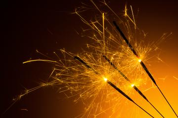 burned party sparklers- Stock Photo or Stock Video of rcfotostock | RC-Photo-Stock
