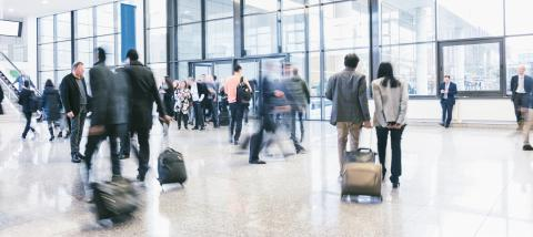 business commuters walking at a airport- Stock Photo or Stock Video of rcfotostock | RC-Photo-Stock