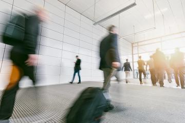 business commuters walking in a corridor- Stock Photo or Stock Video of rcfotostock | RC-Photo-Stock