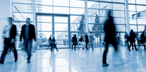 business people activity at a Exhibition hall- Stock Photo or Stock Video of rcfotostock | RC-Photo-Stock