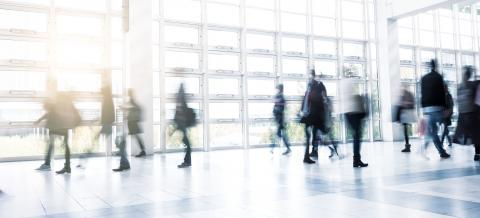 business people activity standing and walking at a Exhibition floor : Stock Photo or Stock Video Download rcfotostock photos, images and assets rcfotostock   RC-Photo-Stock.: