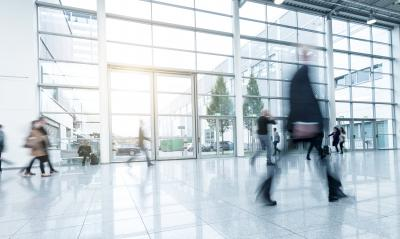 business people at a Exhibition - Stock Photo or Stock Video of rcfotostock | RC-Photo-Stock