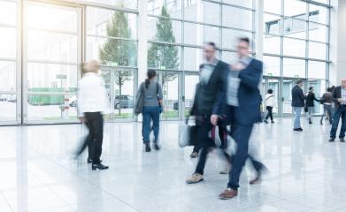 business people at a Exhibition- Stock Photo or Stock Video of rcfotostock | RC-Photo-Stock