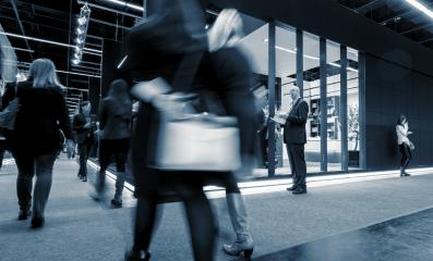 Business People at Trade fair stands- Stock Photo or Stock Video of rcfotostock | RC-Photo-Stock