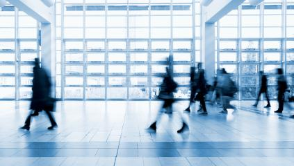 Business People Commuter Walking at Rush Hour on a floor- Stock Photo or Stock Video of rcfotostock | RC-Photo-Stock