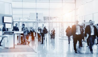 business people crowd at an expo concept- Stock Photo or Stock Video of rcfotostock | RC-Photo-Stock