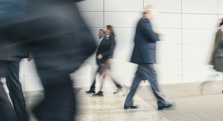 business people crowd rushing in a floor- Stock Photo or Stock Video of rcfotostock | RC-Photo-Stock