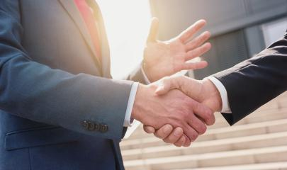 Business people making handshake - business concept image- Stock Photo or Stock Video of rcfotostock | RC-Photo-Stock