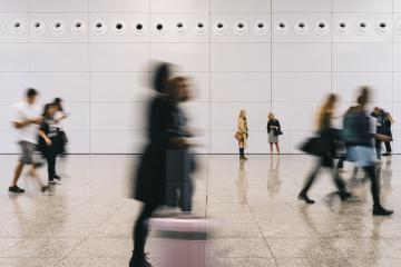 Business people traveling in hall from the airport- Stock Photo or Stock Video of rcfotostock | RC-Photo-Stock