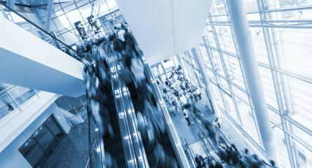 business people using a staircase at a Exhibition- Stock Photo or Stock Video of rcfotostock   RC-Photo-Stock