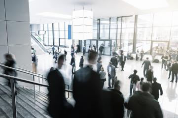 Business People Walking Commuter Travel Motion City Concept- Stock Photo or Stock Video of rcfotostock | RC-Photo-Stock
