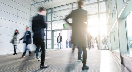 Business People Walking in a modern floor- Stock Photo or Stock Video of rcfotostock | RC-Photo-Stock