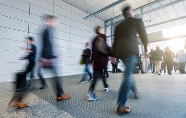 Business people walking in the office corridor- Stock Photo or Stock Video of rcfotostock | RC-Photo-Stock
