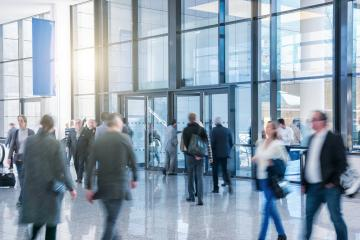 Business People Walking on a modern lobby- Stock Photo or Stock Video of rcfotostock | RC-Photo-Stock