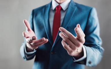 businessman explained his strategy with hands- Stock Photo or Stock Video of rcfotostock | RC-Photo-Stock