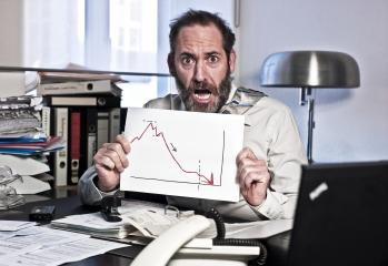 Businessman in Panic- Stock Photo or Stock Video of rcfotostock | RC-Photo-Stock