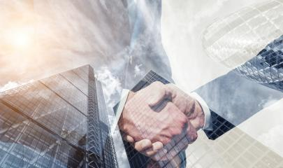 businessman partnership handshake concept. Skyscraper office building on Double exposure background : Stock Photo or Stock Video Download rcfotostock photos, images and assets rcfotostock | RC-Photo-Stock.:
