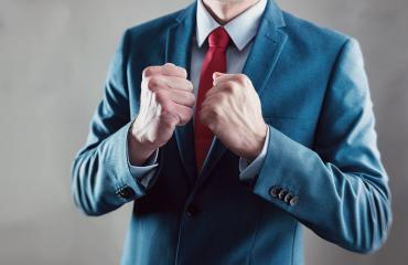 businessman raising fist and celebrating victory with hands - business gesture and people concept image : Stock Photo or Stock Video Download rcfotostock photos, images and assets rcfotostock | RC-Photo-Stock.: