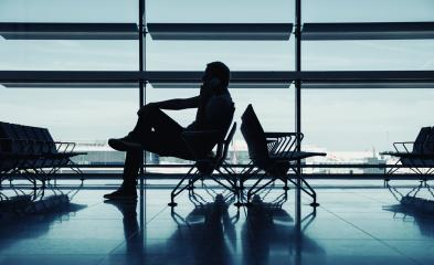businessman waiting for the flight- Stock Photo or Stock Video of rcfotostock | RC-Photo-Stock