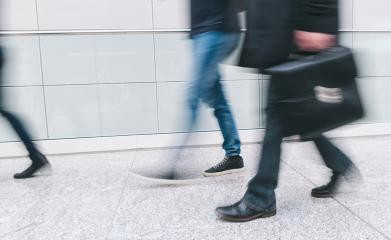 businessman with briefcase rushing in a corridor- Stock Photo or Stock Video of rcfotostock | RC-Photo-Stock