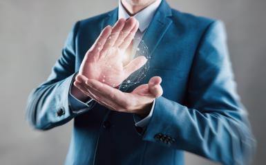 Businessman with digital planet in hands, global connection concept image- Stock Photo or Stock Video of rcfotostock | RC-Photo-Stock