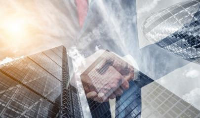 businessmans partnership handshake deal concept. double exposure skyscraper on the background : Stock Photo or Stock Video Download rcfotostock photos, images and assets rcfotostock | RC-Photo-Stock.: