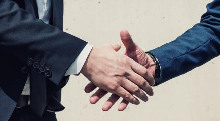 businessmen handshaking process after good deal- Stock Photo or Stock Video of rcfotostock | RC-Photo-Stock