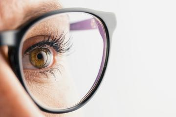 Businesswoman eye with glasses close-up- Stock Photo or Stock Video of rcfotostock | RC-Photo-Stock