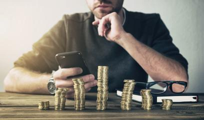Calculating Finance with smartphone- Stock Photo or Stock Video of rcfotostock | RC-Photo-Stock