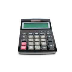 Calculator isolated on White Background- Stock Photo or Stock Video of rcfotostock | RC-Photo-Stock