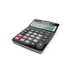 Calculator on a White Background- Stock Photo or Stock Video of rcfotostock | RC-Photo-Stock